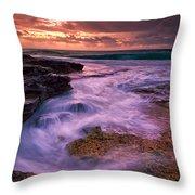 Sandys At Dawn Throw Pillow