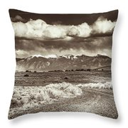 Sangre De Cristo Mountains Throw Pillow