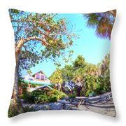 Sanibel And Captiva Visitor Center Iv Throw Pillow