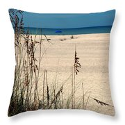 Sanibel Island Beach Fl Throw Pillow