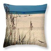 Sanibel Island Beach Fl Throw Pillow