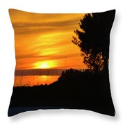 Sanibel Island Sunset Two Throw Pillow