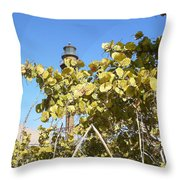Sanibel Lighthouse Throw Pillow