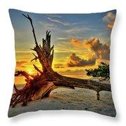 Sanibel Sunrise Throw Pillow