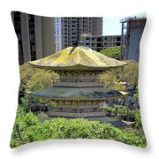 Sanju Pagoda 2 Throw Pillow