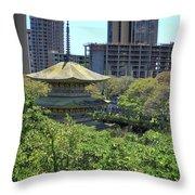 Sanju Pagoda Throw Pillow
