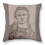 Sansa Stark Throw Pillow