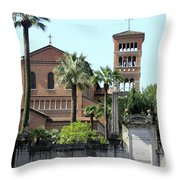 Sant Anselmo Church Throw Pillow