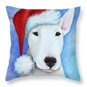 Santa Bully Throw Pillow