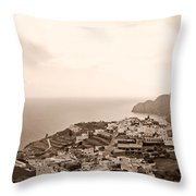 Santa Catalina At La Gomera Throw Pillow