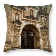 Santa Clara Antigua Guatemala Ruins 2 Throw Pillow