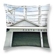 Santa Cruz, California  Throw Pillow