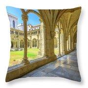 Santa Cruz Monastery Throw Pillow