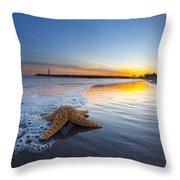 Santa Cruz Starfish Throw Pillow