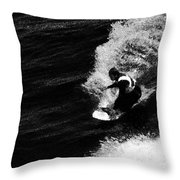 Santa Cruz Surfer Dude Throw Pillow