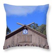 Santa Fe At The Grand Canyon Throw Pillow