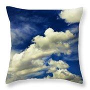 Santa Fe Clouds Throw Pillow