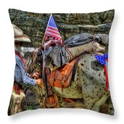 Santa Fe Cowboy Throw Pillow