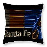 Santa Fe Indian Throw Pillow