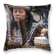Santa Fe - La Shamana Throw Pillow