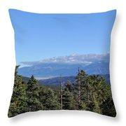 Santa Fe National Forest Throw Pillow