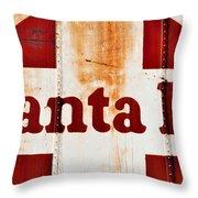 Santa Fe Railway Throw Pillow
