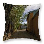 Santa Fe Road Throw Pillow