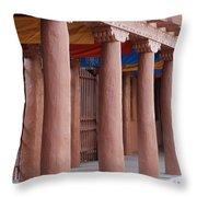 Santa Fe Street Throw Pillow