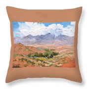 Santa Fe Summer Throw Pillow