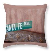 Santa Fe Trail Throw Pillow