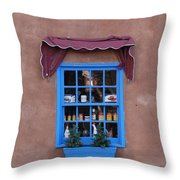 Santa Fe Window Throw Pillow