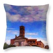 Santa Francesca Romana 2 Throw Pillow