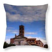 Santa Francesca Romana Throw Pillow