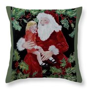 Santa, I Want _ Throw Pillow