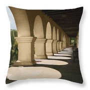 Santa Inez Arches Throw Pillow