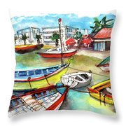Santa Luzia 04 Throw Pillow