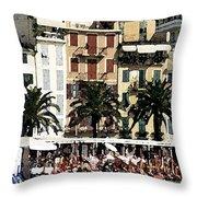 Santa Margherita Throw Pillow