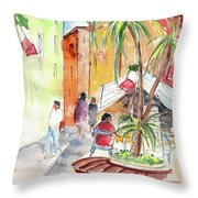Santa Margherita In Italy 05 Throw Pillow