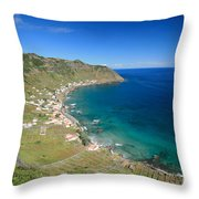 Santa Maria Azores II Throw Pillow