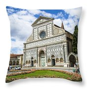 Santa Maria Novella Throw Pillow
