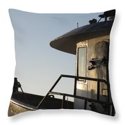 Santa Marie Sf Throw Pillow