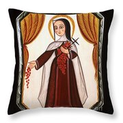 Santa Teresa De Lisieux - St. Therese Of Lisieux - Aotel Throw Pillow