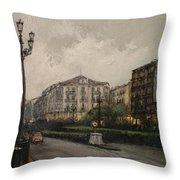 Santander-jesus De Monasterio Throw Pillow