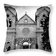 Sante Fe Cathedral Throw Pillow