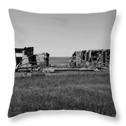 Sante Fe Trail Ghost Throw Pillow
