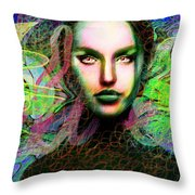 Santhia Thoughts About You Throw Pillow