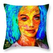 Santia True Colors 673 Throw Pillow