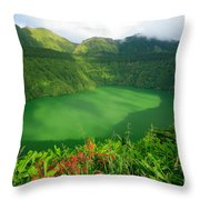 Santiago Lake Throw Pillow