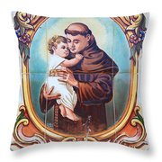 Santo Antonio De Lisboa Throw Pillow