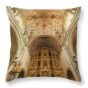 Santo Domingo Church Interior Throw Pillow